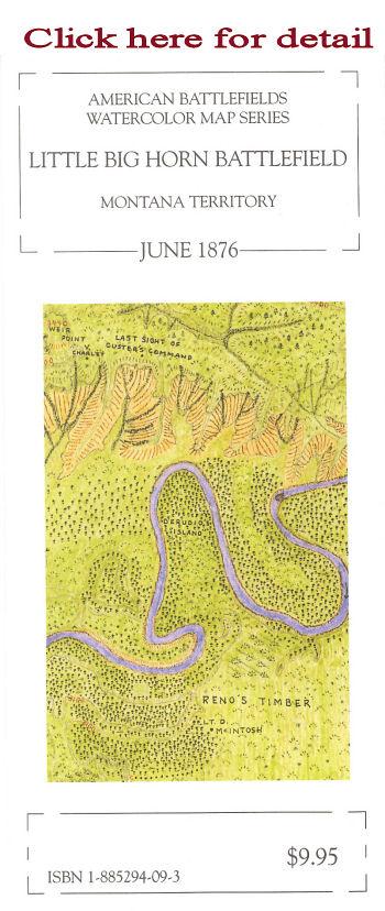 McElfresh Map Company - Little Big Horn Battlefield - Civil War Maps on