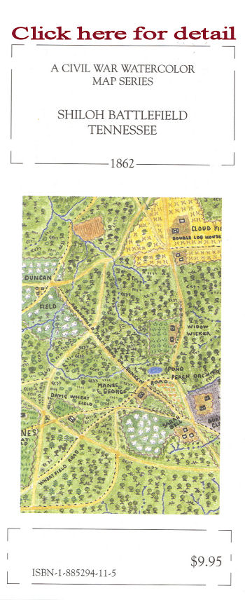 McElfresh Map Company Battle Of Shiloh Map Civil War Maps - Any us map in battlefield series